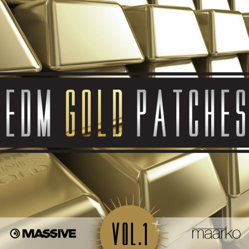 EDM Gold Patches for NI Massive