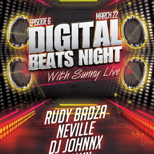 Art Style: Techno | Digital Beats Night With Sunny | Episode 6 [Part 2] : Rudy Badza