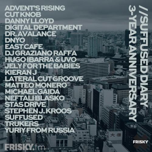 FRISKY | Suffused Diary 3-Year anniversary - Digital Department