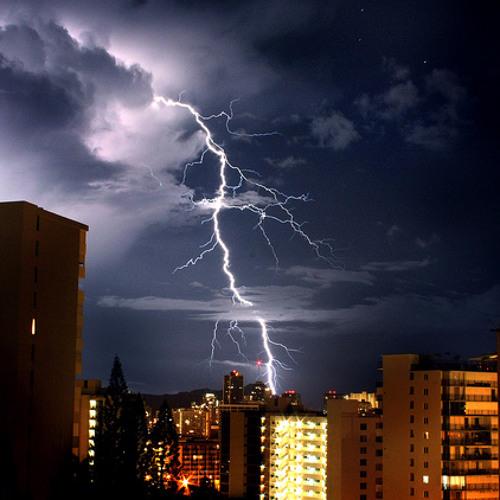 Thunder & Lightning - West Coast Beat / G-Funk instrumental (abstract)