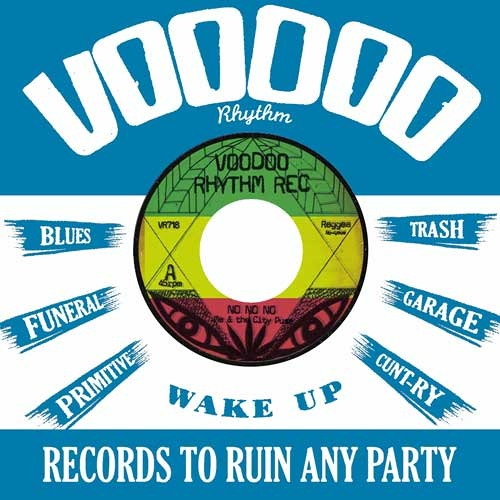 RADIO JINGLE - THE ME'S - VOODOO RHYTHM RECORDS - 2014