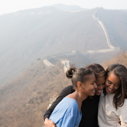 The First Lady's Travel Journal: The Great Wall of China