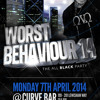 #WORSTBEHAVIOUR14 Hip Hop & R'n'B Mix, Mixed By @MrVI_