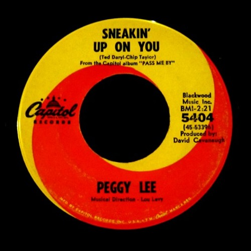 Peggy Lee - Sneakin' Up On You (pd Edit)