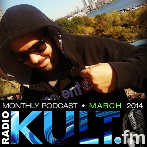 Eddie Cumana - KULT.fm PODCAST (March 2014)