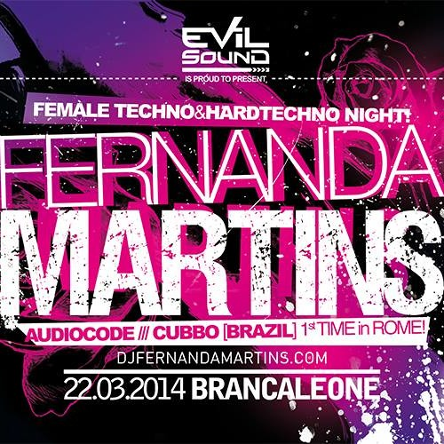 Fernanda Martins @ Brancaleone - Rome, ITALY (22.03.14)