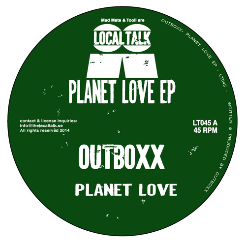 Outboxx - Planet Love (12'' - LT045, Side A)
