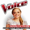 Madilyn Paige - Everything Has Changed (The Voice Performance) Studio Version [DOWNLOAD]