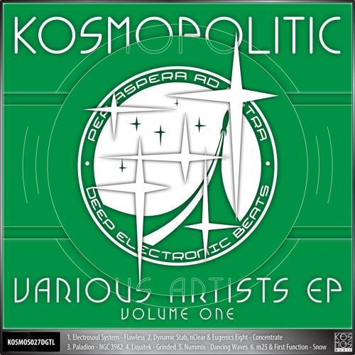 "KOSMOS027DGTL V/A ""Kosmopolitic EP Vol.1"""