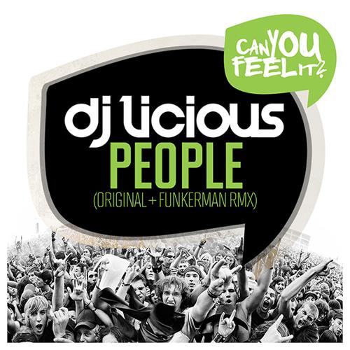 DJ Licious - People (Original Mix)(Preview)