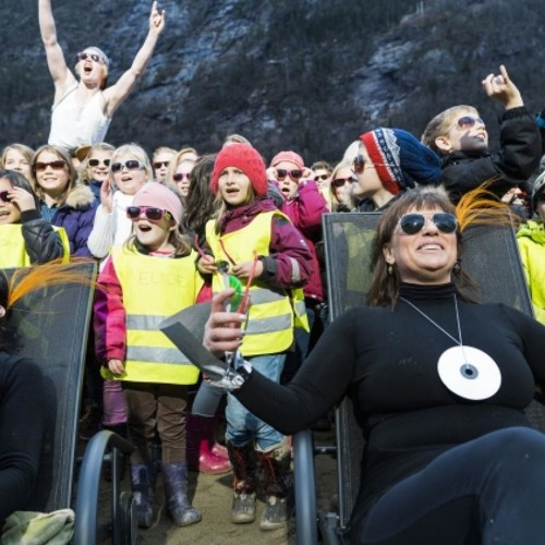Sick of living in darkness (literally), a Norwegian town steals some sunshine
