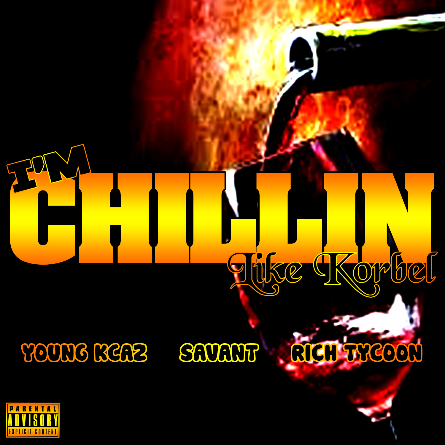 Young Kcaz & Savant ft. Rich Tycoon - Im Chilln (Like Korbel) [Thizzler.com]