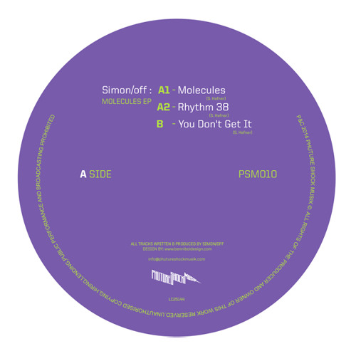 Simon/off - Molecules EP - [Out now on Phuture Shock]