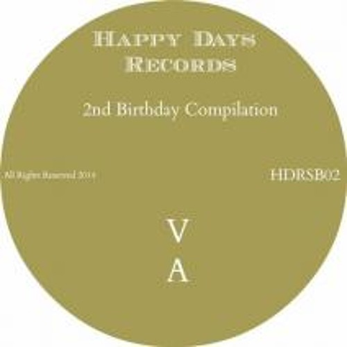 Andrew C. - Dream (Original Mix) SAMPLE [Happy Days Rec.] Out Now!!