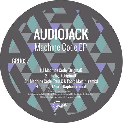 Audiojack - Machine Code (Paul C & Paolo Martini remix)