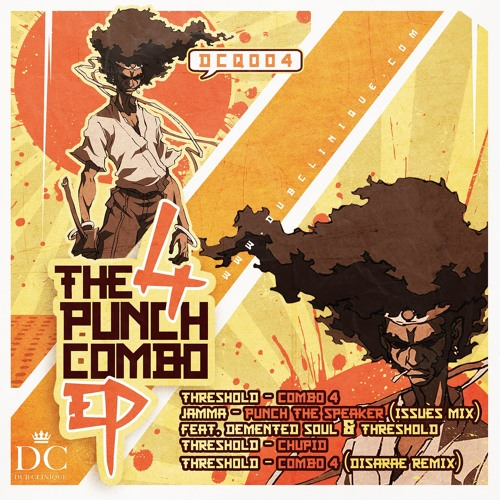 DCQ004 // Various Artists - THE 4 PUNCH COMBO E.P.