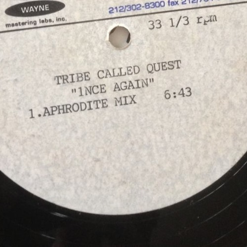 Tribe Called Quest - 1nce Again - DJ Aphrodite Remix (1998)
