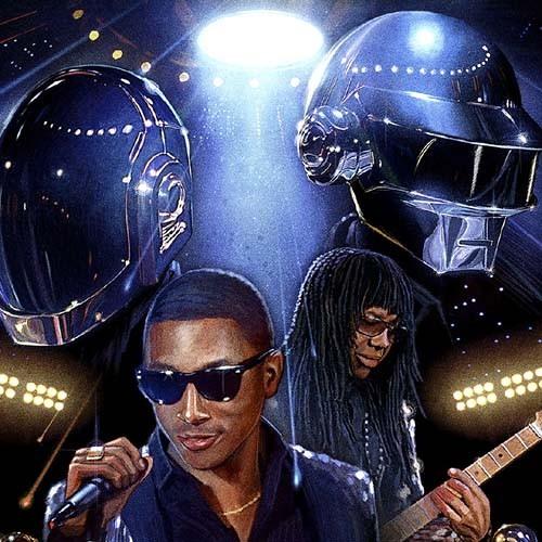 Daft punk - Lose Yourself ft. Pharrell & Kanye (Kero One Re-fix)