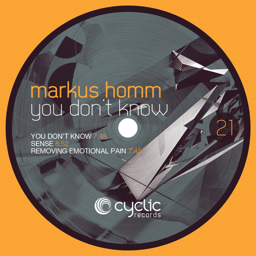 Markus Homm - You Don't Know (CYC21)