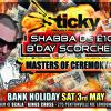 SHABBA D BIRTHDAY BASH - SAT 3RD MAY 2014 @ SCALA. MP3 ADVERT