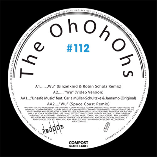 The OhOhOhs - Unsafe Music feat. Carla Müller-Schultzke (Si Tew Remix)