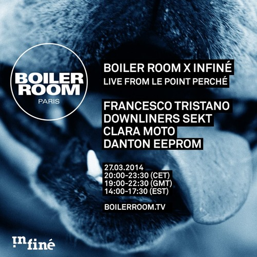 Downliners Sekt Boiler Room Paris x InFiné DJ Set
