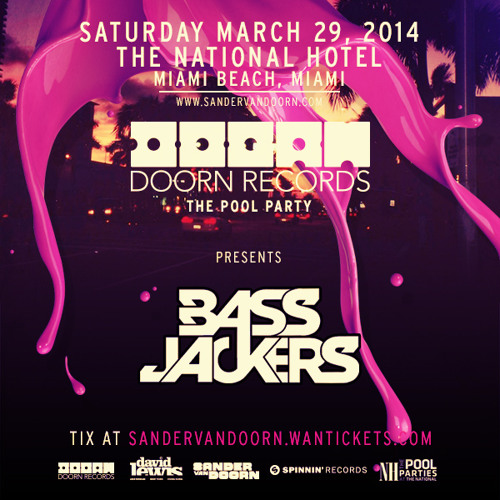 DOORN Records 'The Pool Party' Preparty Mix by Bassjackers