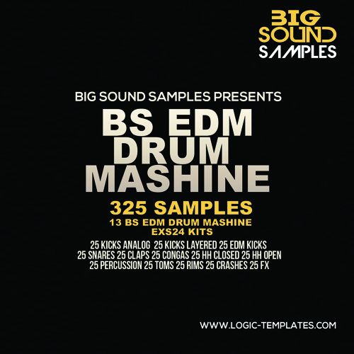 BS EDM Drum Mashine