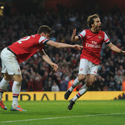 """""""That's a great finish by Flamini!"""""""