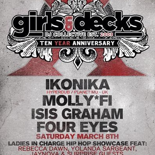 Girls on Decks 10 Year Anniversary PROMO Mix