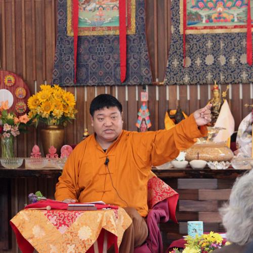 Orgyen Chowang Rinpoche : Heartfelt Advice of Padmasambava : 3-22-14 : Session 1/4