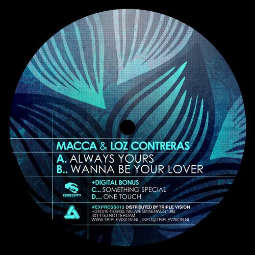 "Macca & Loz Contreras - Wanna Be Your Lover (Clip) [Expressions 12"" & Fokuz Digital]"