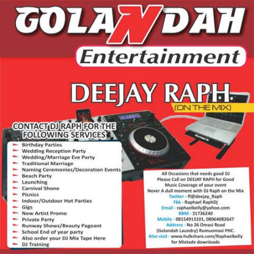 DEEJAY RAPH 9JA PARTY MIX VOL 12 by DEEJAY RAPH | Free