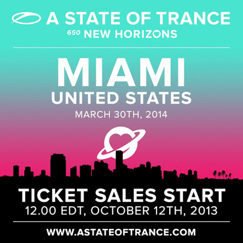 Andrew Rayel - Live @ A State of Trance 650 (Miami 31 Mar 2014 )