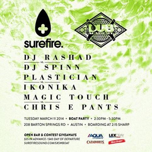 Plastician B2B Ikonika & Rashad B2B DJ Spinn @ SXSW - Rinse FM - 21st March 2014