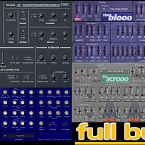 Full Bucket Synths Demo