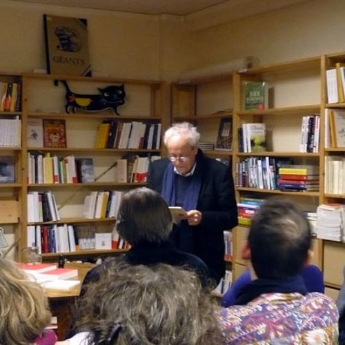 """Lecture de """"La Maladie de la chair"""" par Bernard Noël (13/03/14)"""