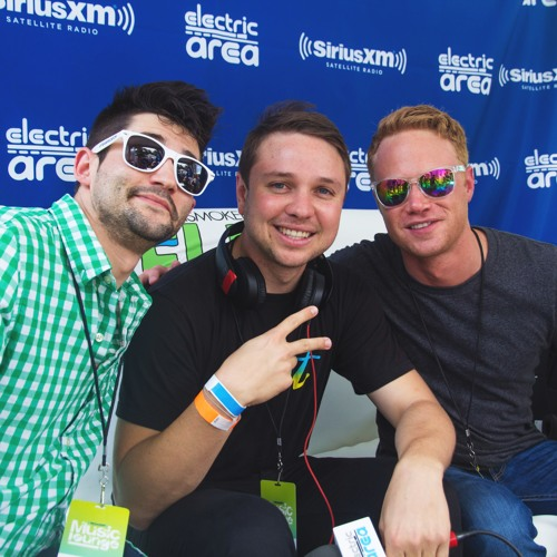 UMF Radio 2014: Borgeous Talks About His Arms w/ Kramer & Ben Harvey