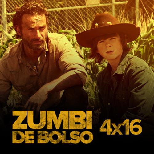 """Zumbi de Bolso #32 - Review de The Walking Dead 4x16: """"A"""" [Season Finale]"""