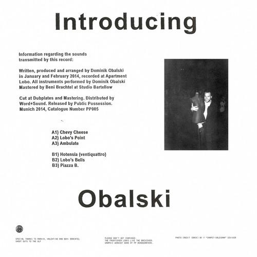 [PP005] OBALSKI - Introducing Obalski (snippets)