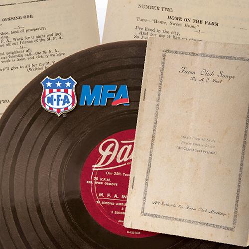 MFA Song Book, Historical Songs of MFA Farm Clubs