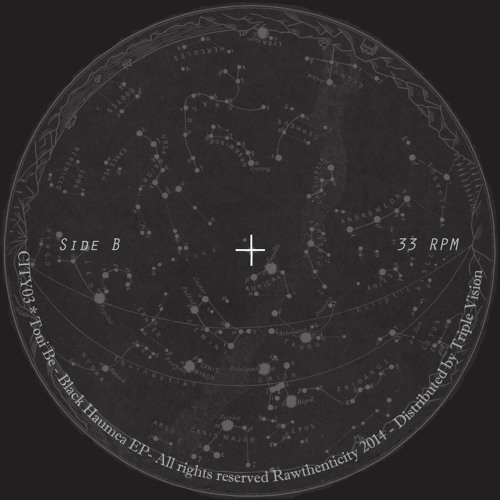 Toni Be - Black Haumea EP (CITY03)
