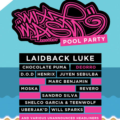Will Sparks - Live @ Mixmash Pool Party National Hotel Miami (USA) 2014.03.27.