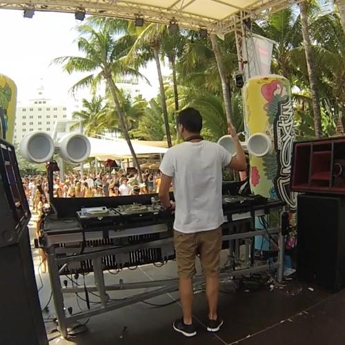 Marc Benjamin Live at Mixmash Pool Party (WMC) National Hotel  27-03-14