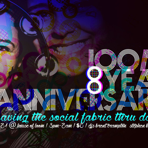 Brent Crampton || Live @ loom 8-Year Anniversary