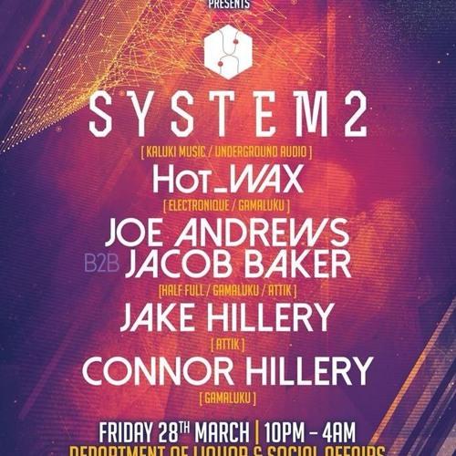 Jake Hillery March 14 AtTiK launch party mix