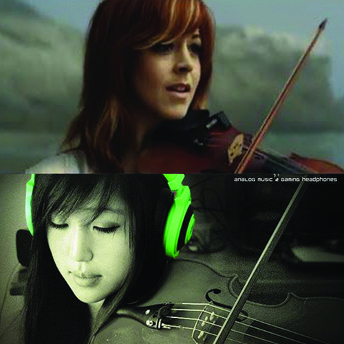 Lindsey Stirling: Beyond The Veil (viola,violin) duet ft. xclassicalcatx [FULL]
