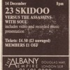 23 Skidoo Live At The Albany Empire Deptford 1986