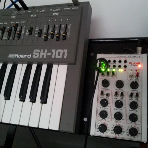SH101 White Noise Rhythms
