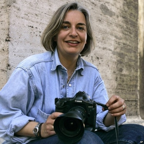 Newshour: Anja Niedringhaus was 'a great, joyful, infectious journalist'.